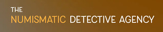 Numismatic Detective Agency logo