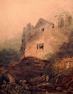 Chepstow Castle by John Sell Cotman