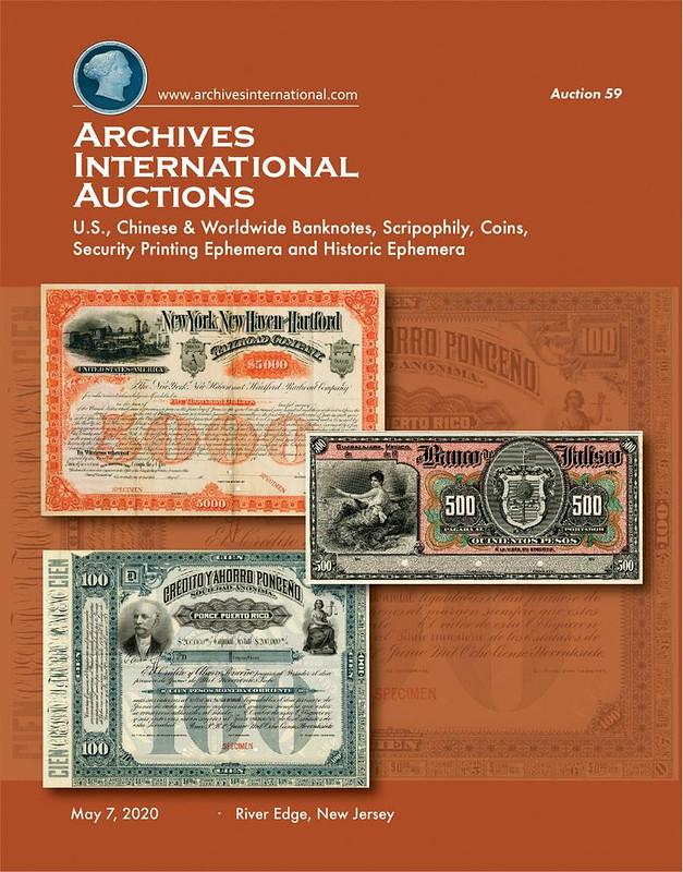 Archives International Sale 59 cover front