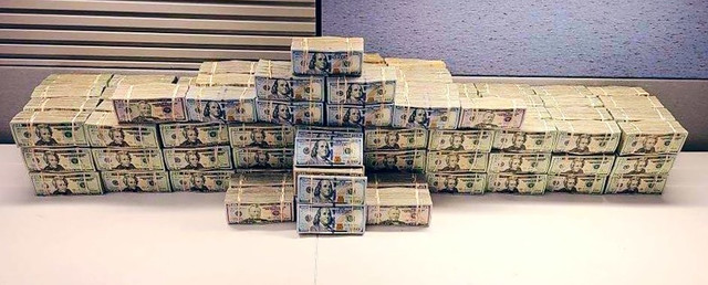 DEA drug money seizure