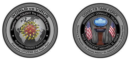 World Vs. Virus COVID-HEROES coin