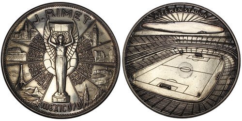 1970 World Cup Silver Medal
