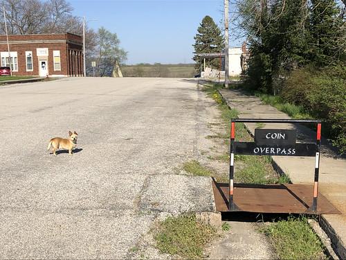 Coin, Iowa street scene