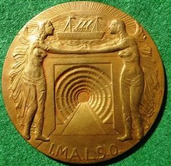 1933 St Anna Tunnel opening medal