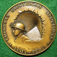 1962 Trans-Andean Water Tunnel medal