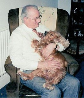 Colin Narbeth with dog