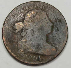 Altered Date 1801-1804 Large Cent