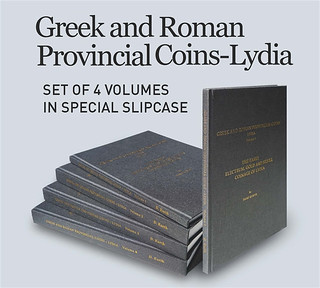Greek and Roman Provincial Coins Lydia slipcase
