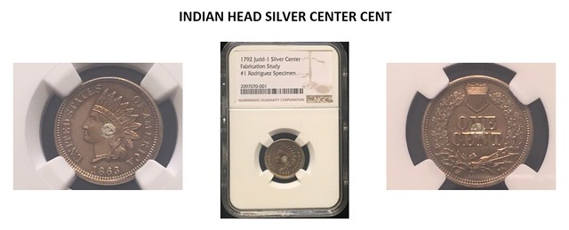 INDIAN HEAD SILVER CENTER CENT