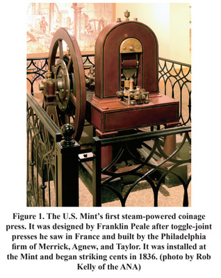 US Mint Steam coinage press