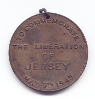 Jersey Liberation Medal reverse