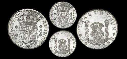 Sedwick sale 27 lot821 Bogota, Colombia, pillar 8 reales