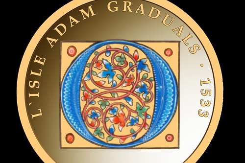 Malta L'Isle Adam Graduals gold coin