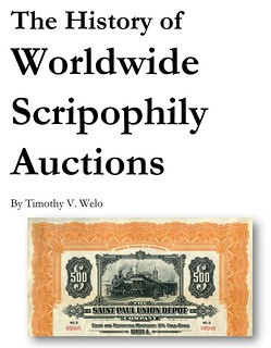 History of Worldwide Scripophily Auctions book cover