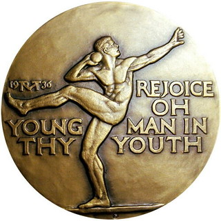 Rejoice Oh Young Man In Thy Youth Medal obverse