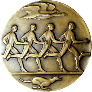 Rejoice Oh Young Man In Thy Youth Medal reverse