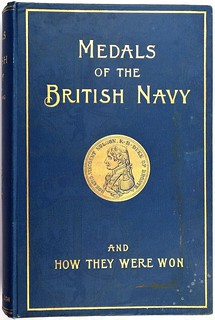 Medals of the British Navy book cover