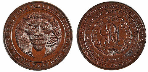 Summers Wild Man token Middlesex_906
