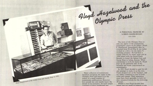 Floyd hazelwood and the Olympic Press