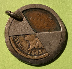 cased Indian cent obverse