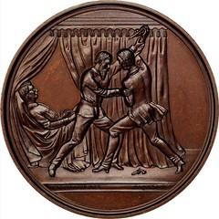 George F. Robinson Medal reverse