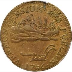 1786 Vermont Landscape Copper obverse