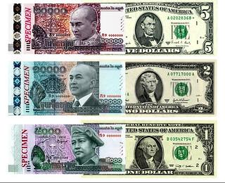 Cambodian Riel-US Dollar image