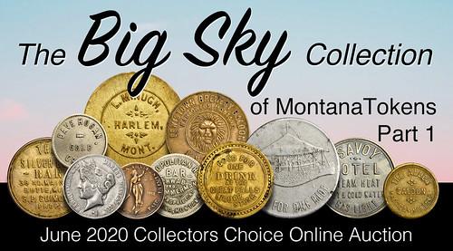 Big Sky Collection of Montana Tokems Part 1