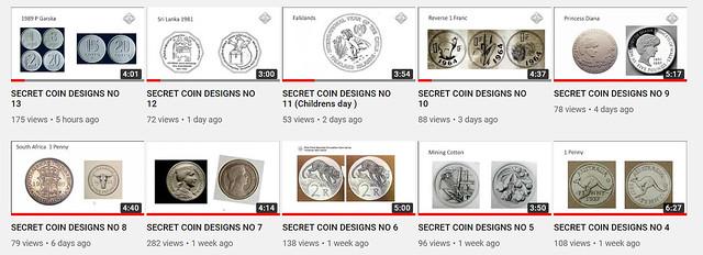Secret Coin Designs