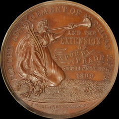 National Export Exposition Official Medal obverse