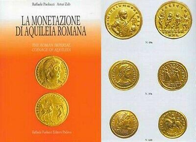 2019 La Monetazione Di Aquileia Romana book cover