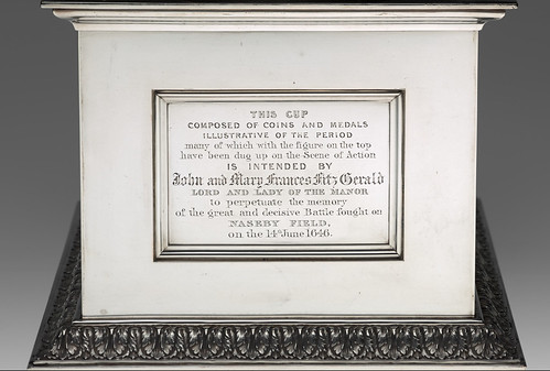 Nasby cup inscribed plate