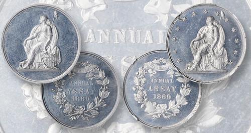 1869-stars-and-no-stars Assay Medals