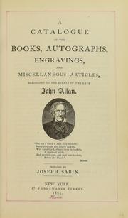 1864 John Allan sale