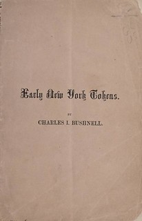 1859 Bushnell Early New York Tokens
