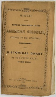 1851 Hart Paper Money American Colonies