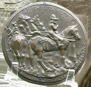 1438 Pisanello Medal of John VIII Palaeologus reverse
