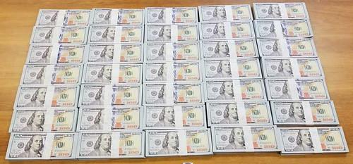 Chinese fake $100 bills