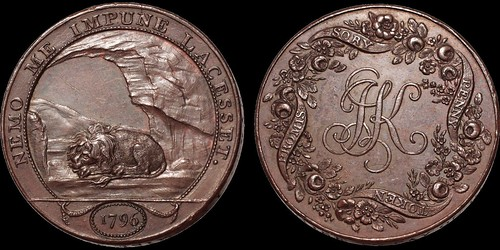 Birmingham Kempson Copper penny