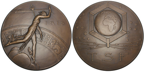 Radio Art Deco Medal