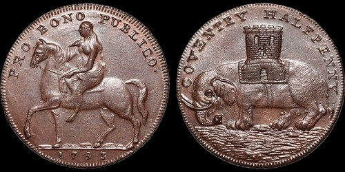 Coventry Copper halfpenny