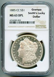 Grampa Smith's Lucky Dollar slabbed