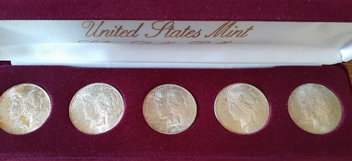 United States Mint Silver Dollar Collection coins
