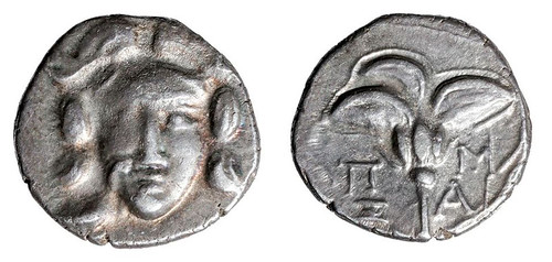 Greece Caria Silver Drachm
