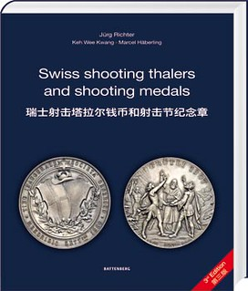 Swiss shooting thalers and medals 3ed ed book cover