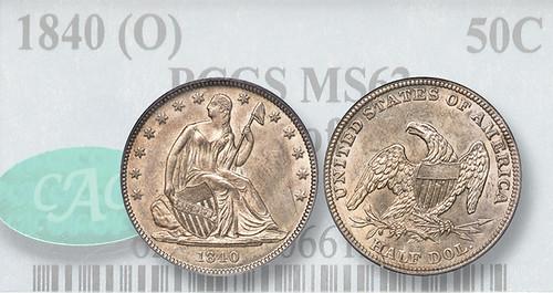Muled 1840-(O) Half Dollar