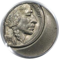 Off Center 1930 Buffalo Nickel obverse