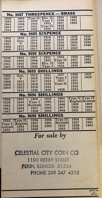 Whitman Checklist Great Britain page