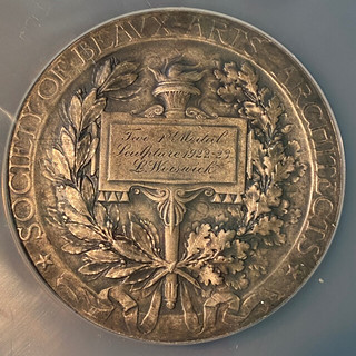 Beaux-Arts Institute of Design Medal reverse