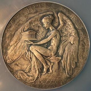 Beaux-Arts Institute of Design Medal obverse